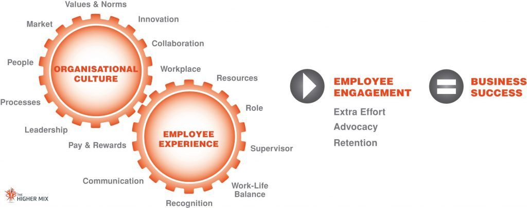 Employee Experience, Culture Model   The Higher Mix