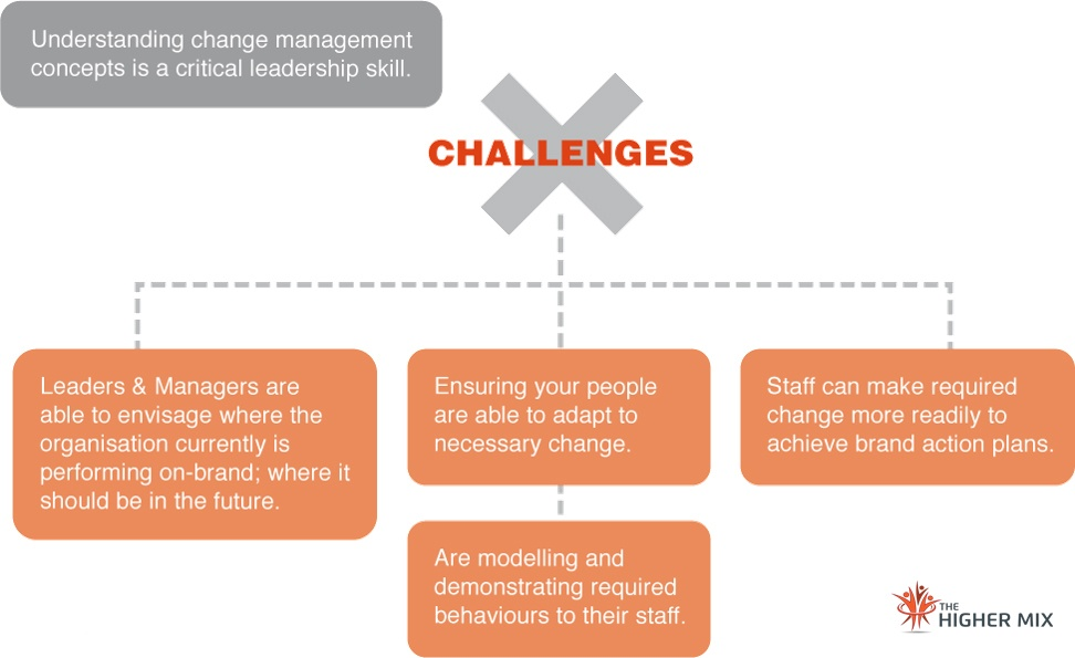 Leadership Brand Change Leadership (Simplified)   The Higher Mix