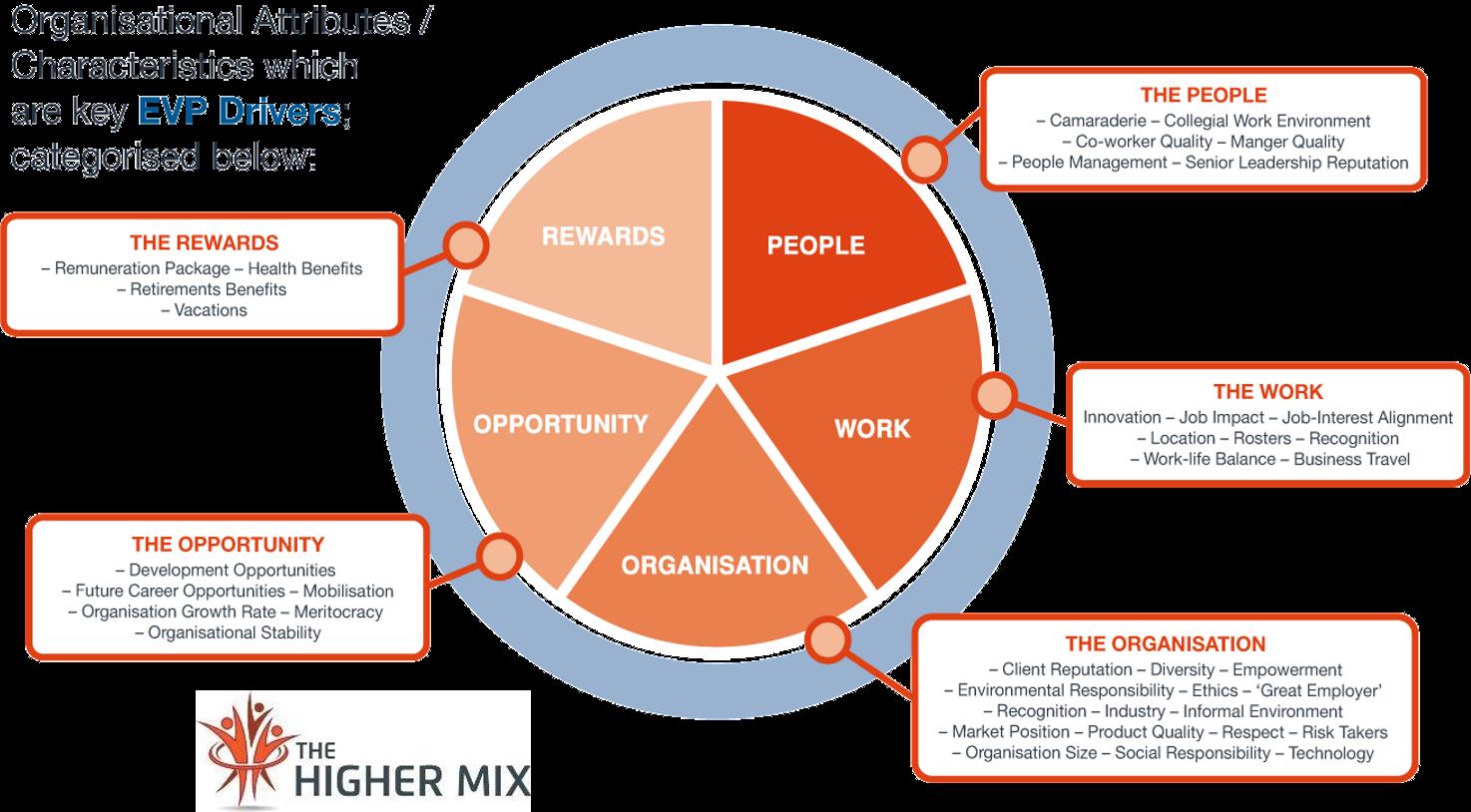 EVP Characteristics The Employee Experience